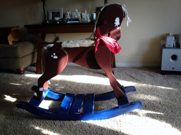delta rocking horse plans